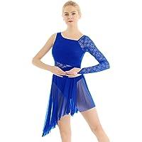 iixpin Vestido de Danza Lírica Moderna Maillot
