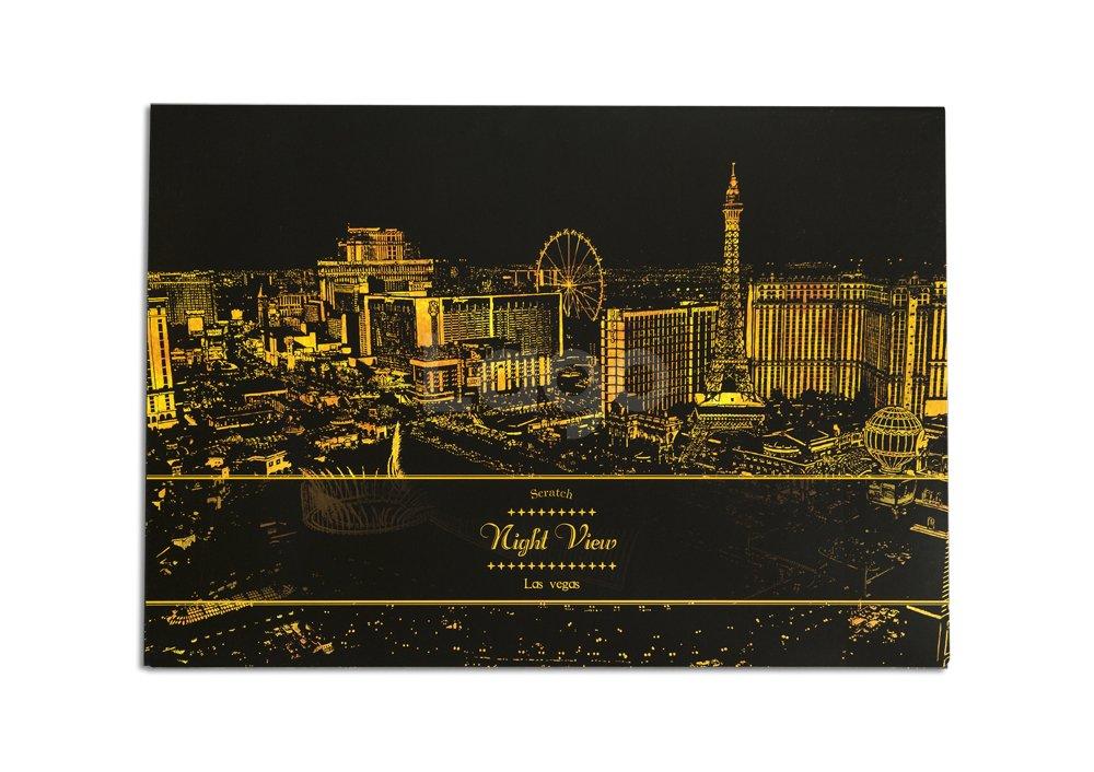 Lago Scratch Night View (Las Vegas)