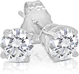 3f38f96f0 SK Jewel,Inc 1/6-1.00ct tw Diamond Stud Earring in 14k