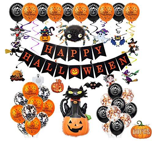 Comprar Halloween Decoración Accesorios 60 piezas - Tienda Online Disfraces complementos - Envíos Baratos o Gratis