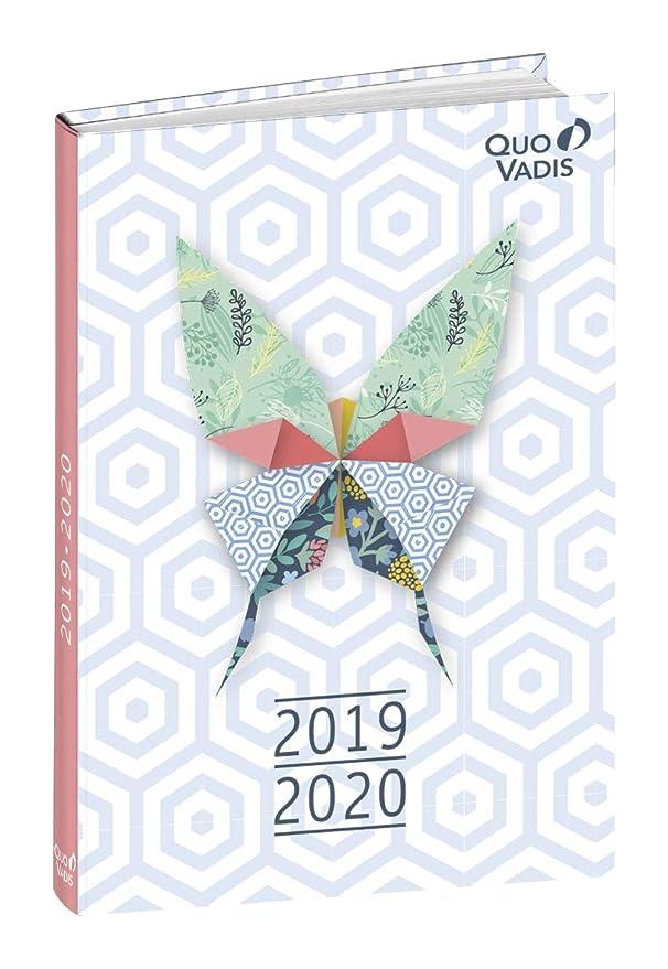 Agenda Escolar 1 Día/Página 2019-2020 Butterfly, 12x17cm ...