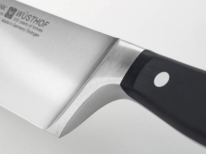 Wusthof 18 cm Sandwich Knife Black