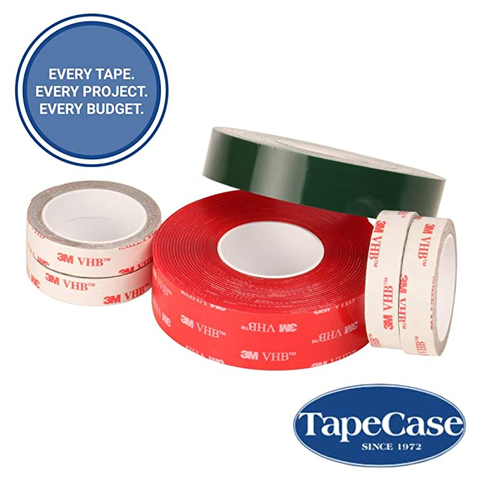 3M VHB Tape 4926 Gray Double Sided Conformable Acrylic Foam Tape 1 Diameter in Circles 5//Pack