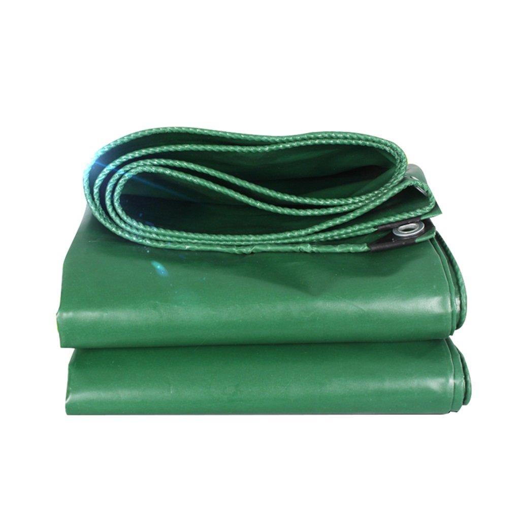 DYFYMXOutdoor Ausrüstung LKW-Regenwasserschutzplanenladung staubdichtes temperatur windundurchlässiges Gewebe der Schuppenstoffhohen temperatur staubdichtes Anti-Alterngrün @ fd4e08