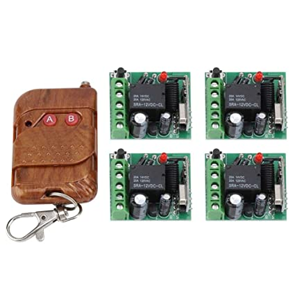 Wireless RF Switch,DC 12V Long Range Remote Control Relay