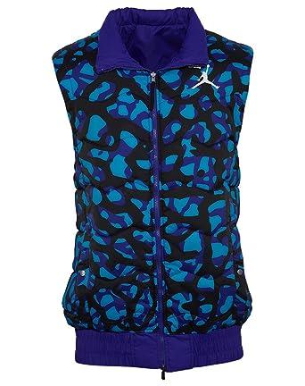 e5093b7af35dc1 Men s Air Jordan Fly Vest Reversible Jacket (682811-530) - CAMO PURPLE (
