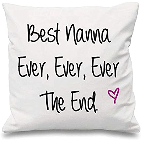 123RoyWarner - Funda de cojín para el Mejor Nanna Ever Ever ...