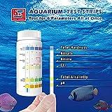 BOSIKE Aquarium 6 in 1 Testing Strips for