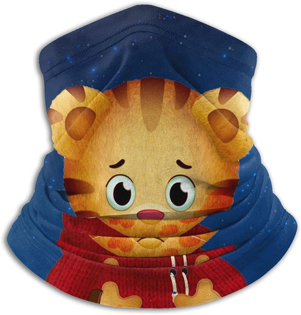 Daniel Tiger Unisex Comfortable And Breathable Fashion Scarf Face Tube Neck Scarf Neck Warm Scarf