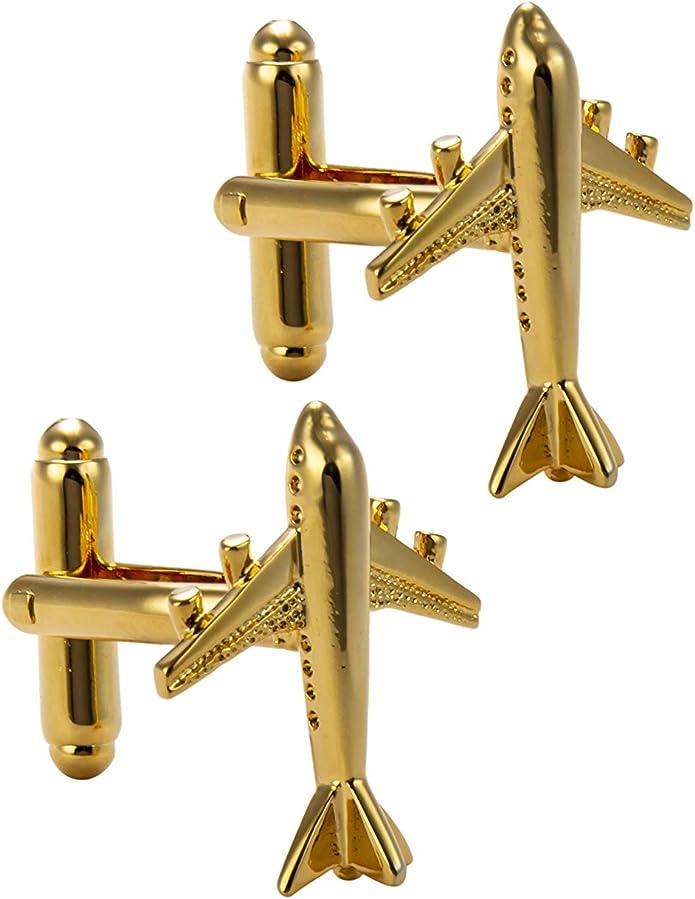McDonnell Douglas MD-11 Pewter Emblem Cufflinks Jewellery Smart wedding code7