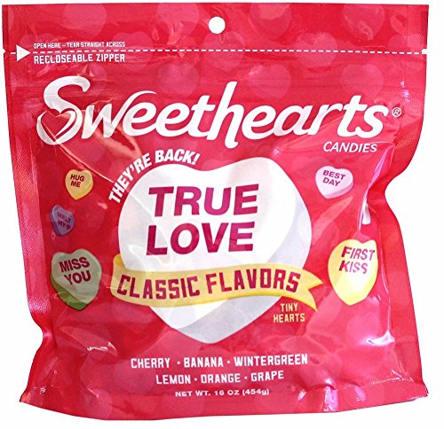 Sweethearts Candies, Classic Flavors, 16 oz by Sweethearts