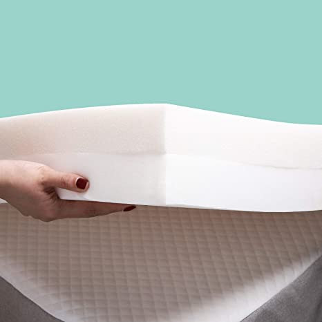 Amazon Com Recci 4 Inch Premium Foam Mattress Topper Queen 2