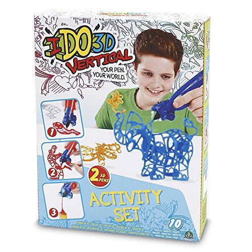 Ido3d – Ddd01 – Vertical – Activity Set – 2 Tubes – Modèle Aléatoire
