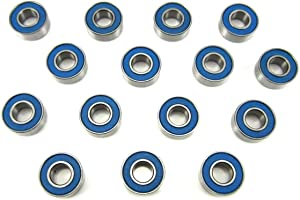 Traxxas 2WD Slash, Stampede Wheel, Hub, Trans Bearings BU, 5x11x4mm (15)