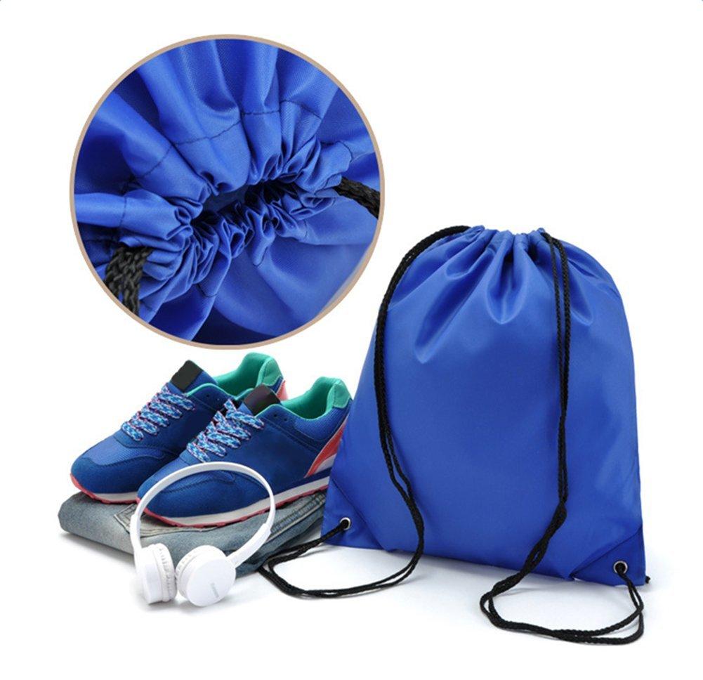 Yonger Drawstring Bag Pack Oxford cloth Folding Travel Sport Storage Drawstring Backpack Sack Bag Tote Bags by Yonger (Image #9)