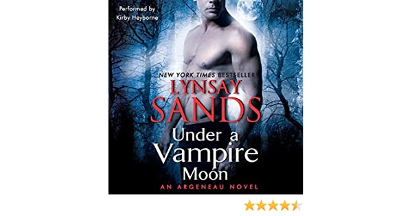 Under A Vampire Moon An Argeneau Novel Book 16 Audio Download