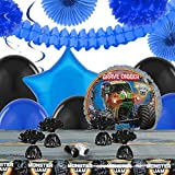 Monster Jam 3D Childrens Birthday Party Supplies - Decoration Pack
