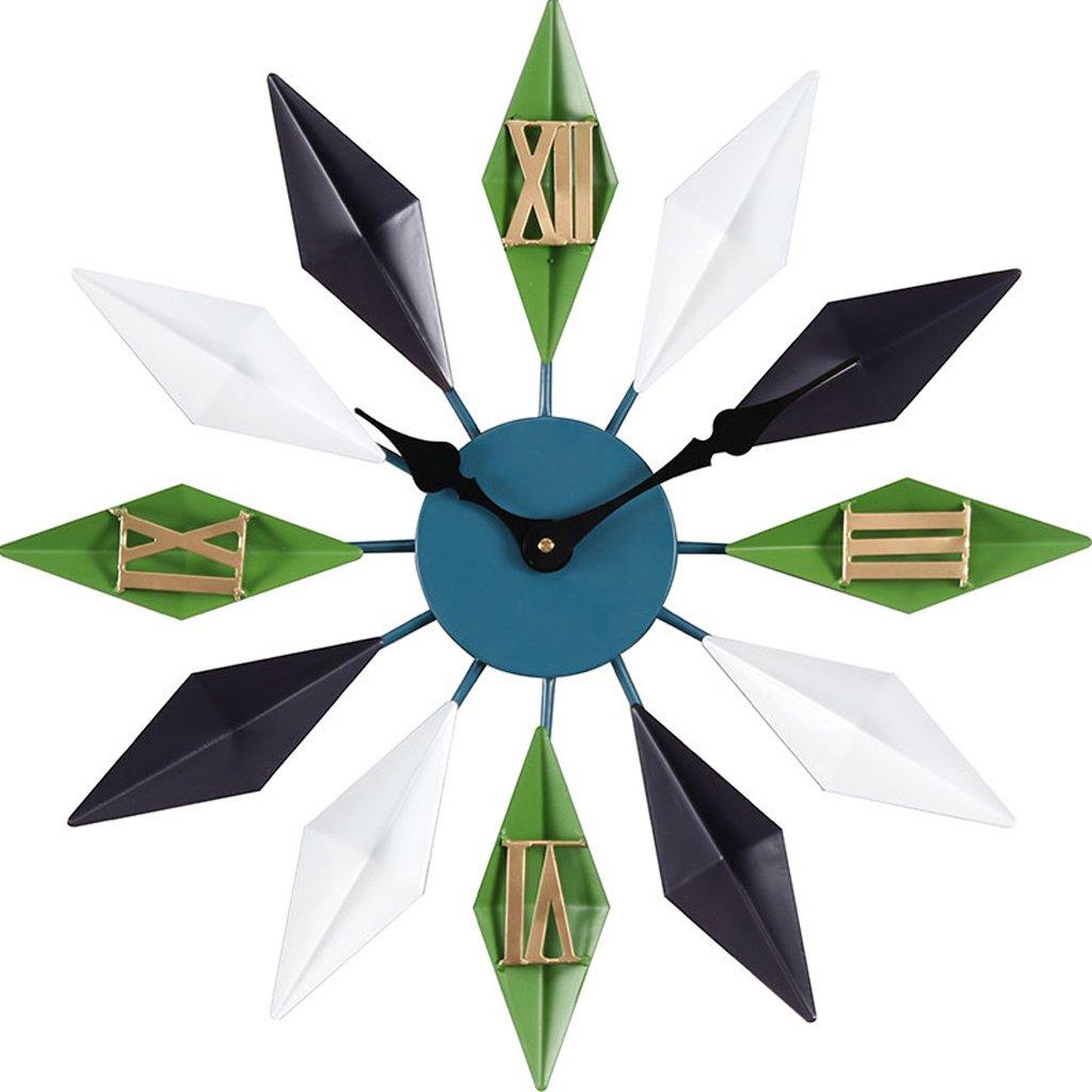 ウォールクロックヨーロッパのリビングルームクリエイティブクロック、時計、ラウンドアートペンダント (色 : A, サイズ さいず : Diameter54cm) B07DKHCGGRA Diameter54cm
