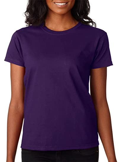 749e42808c3 Gildan 2000L - Classic Fit Ladies T-Shirt Ultra Cotton - First Quality -  Purple - 2X-Large