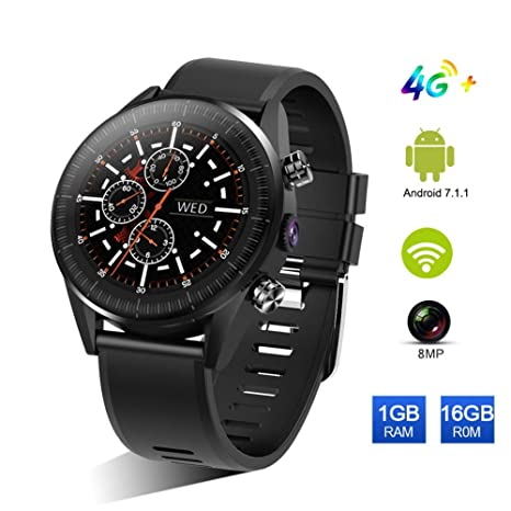 AZWE 4G Smartwatch, Smart Watch con Mtk 6739 1Gb + 16Gb ...
