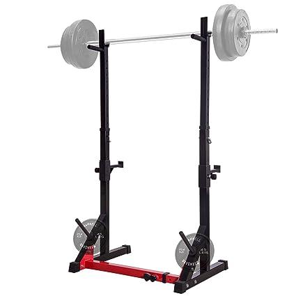 Amazon.com : ollieroo multi function squat rack 480lbs capacity