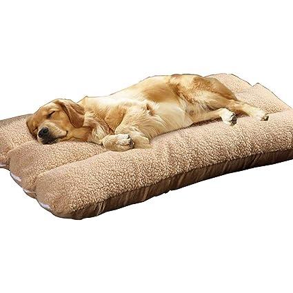 meilleure qualité 100% authentifié acheter réel Letto per cani extra large in lana per cuscino 120 x 80 cm ...