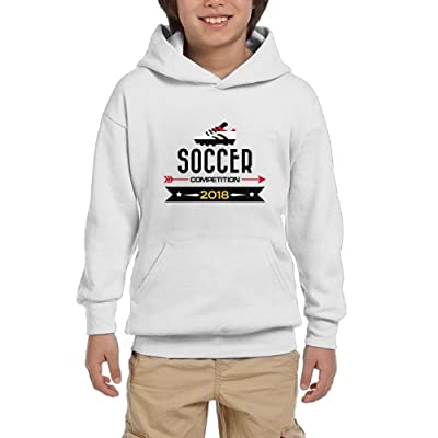 2018 Soccer Competition Egypt Youth Pullover Hoodies Casual Pockets Sweatshirts