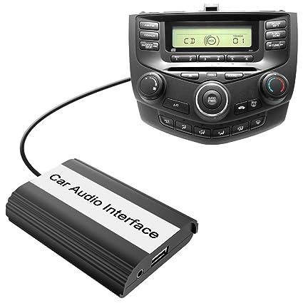 Amazon Com Car Stereo Bluetooth Adapter For Honda Accord Civic Crv