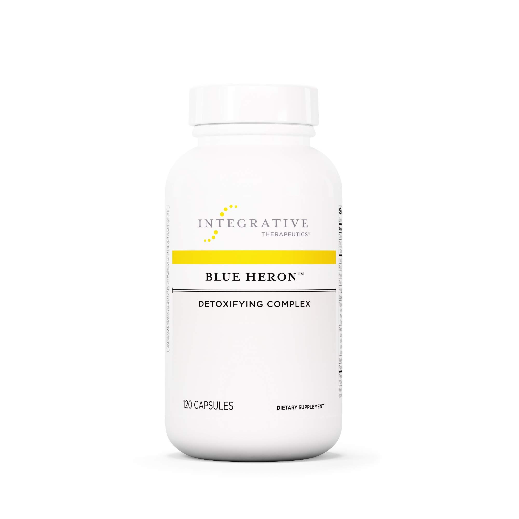 Integrative Therapeutics - Blue Heron - Detoxifying Complex with Dietary Fiber, Herbs, and Probiotics - 120 Capsules