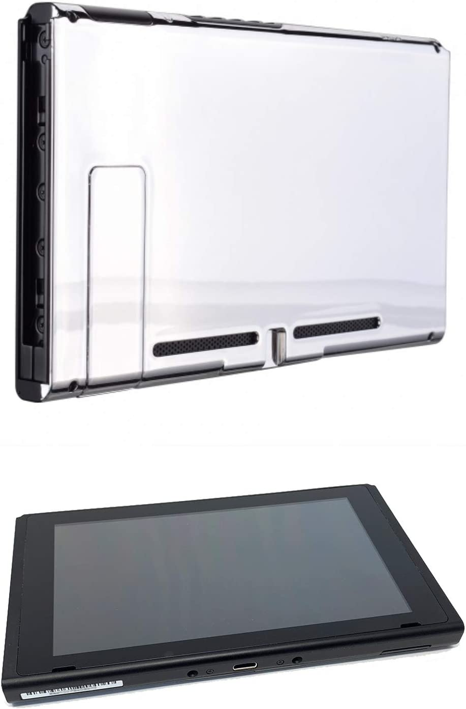 Chrome Silver Custom Console for Nintendo Switch Tablet Only