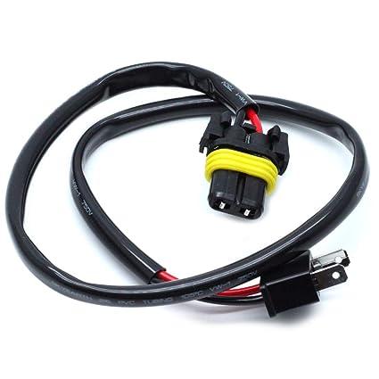 Excellent Amazon Com Autut H7 Male To 9006 Female Headlight Wiring Harness Wiring Digital Resources Anistprontobusorg