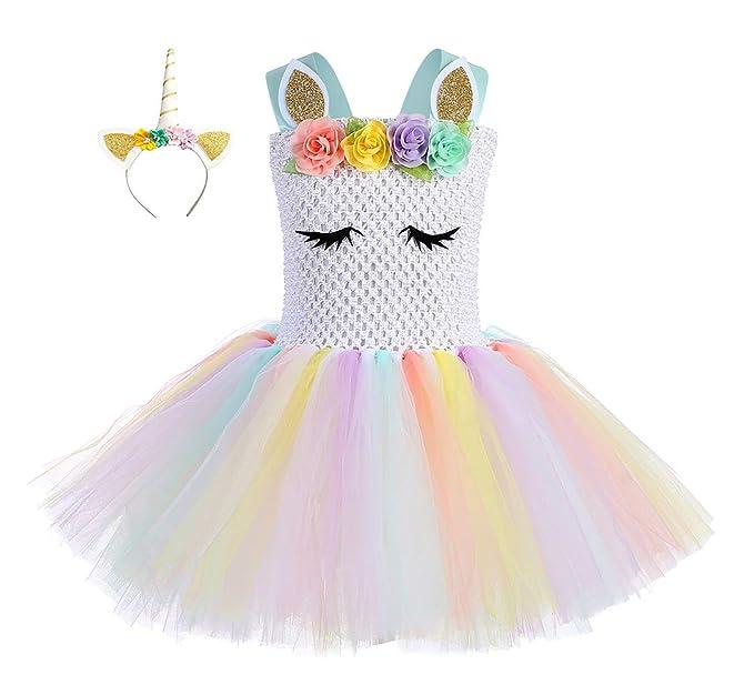 Amazon.com: Trajes de tutú para fiesta de cumpleaños para ...