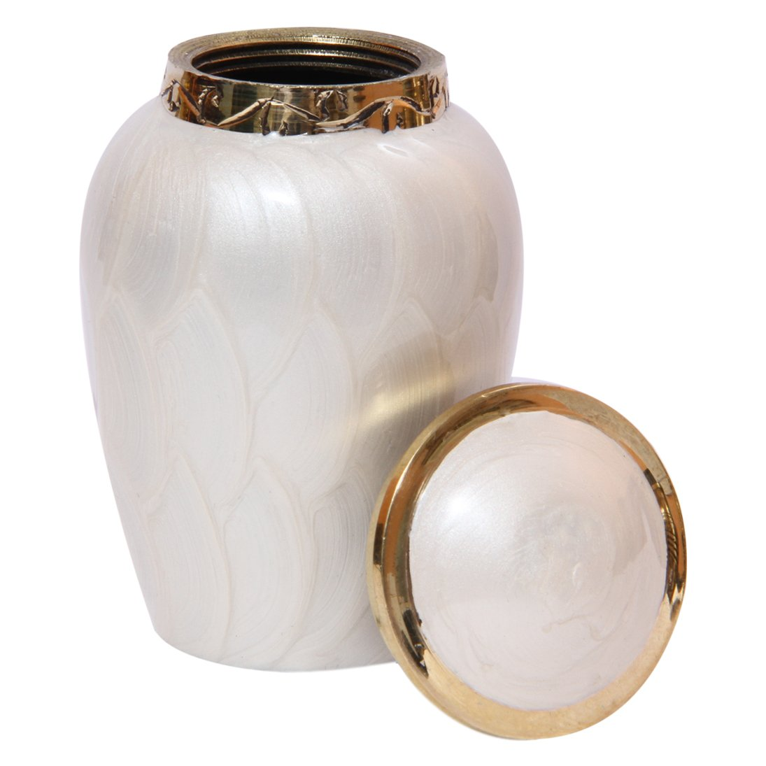 Blessing Pearl Memorial Keepsake Urn for Human Ashes, Beautiful Cremation Urn