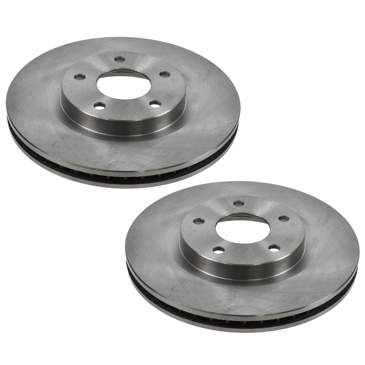 2007 Fits Nissan Sentra SE-R Spec V OE Replacement Rotors Ceramic Pads F+R