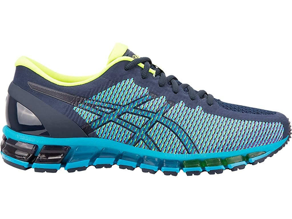 Peacoat Safety jaune ASICS Gel Quantum 360, Chaussures de Running Compétition Homme 44.5 EU