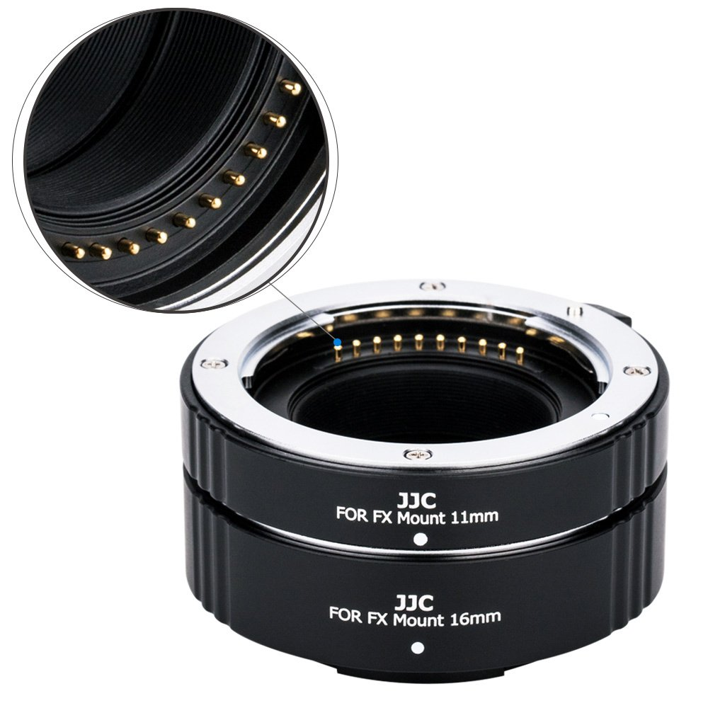JJC EF /& EF-S Mount Auto Focus Extension Tube Set for Canon EOS 80D 70D 60D 77D Rebel T6 T7 T5 T7i T6i T6s T5i T4i SL3 SL2 SL1 EOS 6D Mark II 7D Mark II 5D Mark IV III II 5Ds R 1Dx Mark II and More