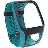 TomTom Cinturino Regolabile per Orologi GPS Runner, Multi-Sport e Golf, Turchese