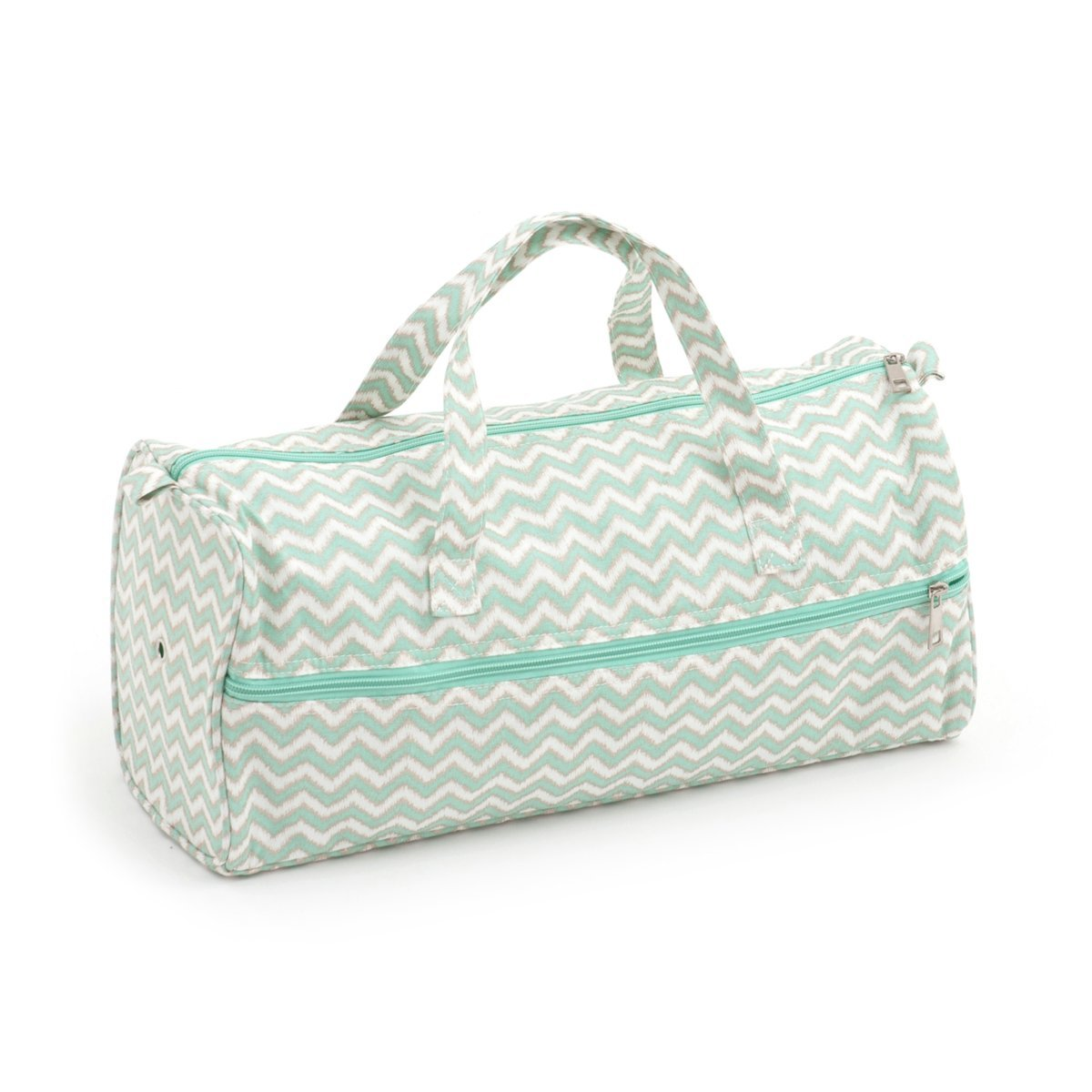 HobbyGift Groves esclusivo: knitting bag: scribble chevron, misto cotone, assortiti, 15 x 42 x 17.7 cm MR4698\269