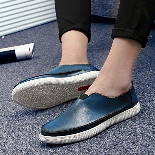 Miyoopark - zapatilla baja hombre Style1-Blue