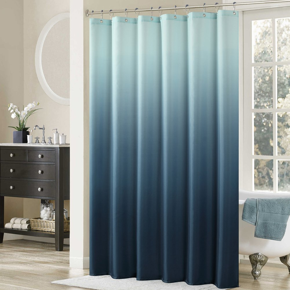 Amazoncom DS BATH Ombre Shower CurtainPopular Fabric Shower - Brown and turquoise shower curtain