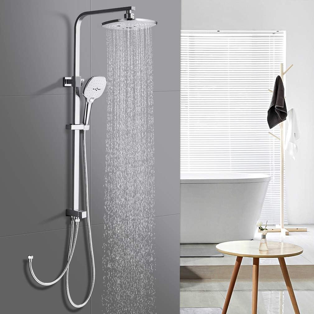 WOOHSE Columna de ducha Shower Set Sistema de Ducha con Barra ...