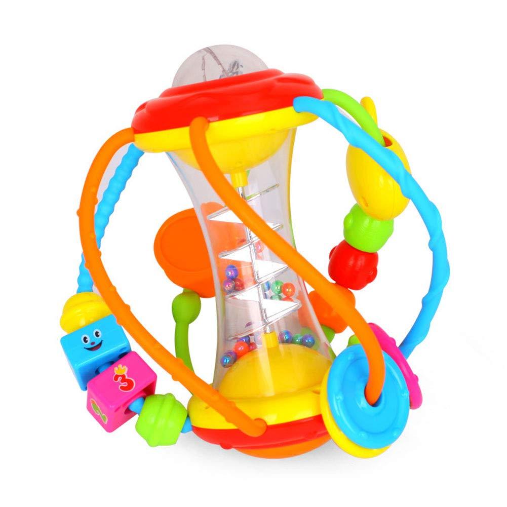 Studyset ベビーラトル アクティビティボール ラトル 教育玩具 赤ちゃん用 握りボール パズル 登山 おもちゃ   B07H7ZGKWW