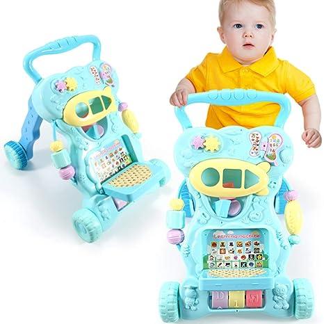Cochecito antivuelco para bebé, carrito multifunción para ...