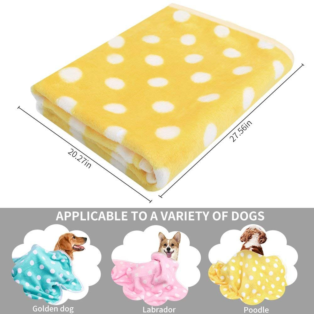 Pet Dog Blanket - Cat Puppy Blanket Soft Warm Sleep Mat Couch,Car, Bed - Dog Cat Other Small Animals (Pet Blanket) by BAODATUI (Image #6)