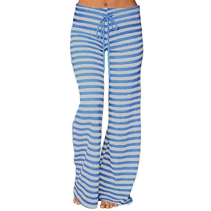 Sylar Pantalones Mujer Cintura Alta Y Comodos, Simple Estampado De ...