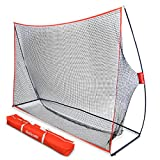 GoSports Golf Practice Hitting Net | Huge 10' x 7' Personal Driving Range Indoor Outdoor Use | Designed Golfers Golfers