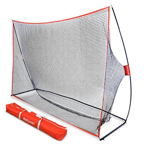 GoSports Golf Practice Hitting Net | Huge 10' x 7' Personal Driving Range For Indoor or Outdoor Use | Designed By Golfers for Golfers by GoSports