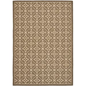 Amazon Safavieh Courtyard Collection CY6564 22 Brown