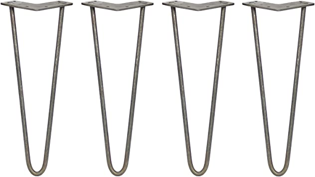 SKISKI LEGS - 4 Patas Horquilla para Mesa 35,5cm 2 Dientes de ...
