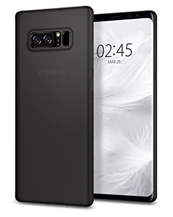 pretty nice 25e22 1eace Spigen Air Skin Works with Samsung Galaxy Note 8 Case (2017) - Black